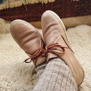 Frye Mindy Chukka Leather Sneaker 8